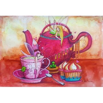 L'heure du thé (A3)