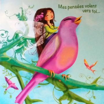 l'oiseau et la fée
