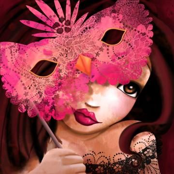 La fille masquée