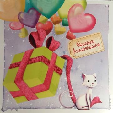 Heureux anniversaire chaton
