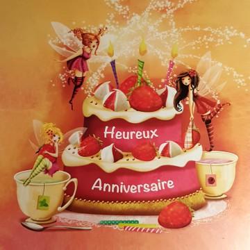 Heureux anniversaire Gâteau