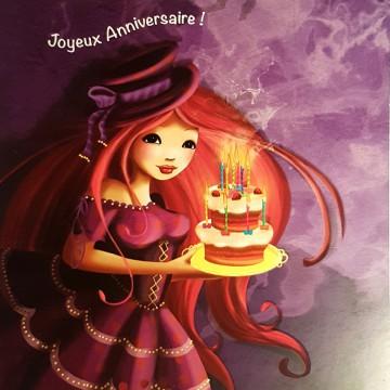 Joyeux anniversaire ! Gâteau