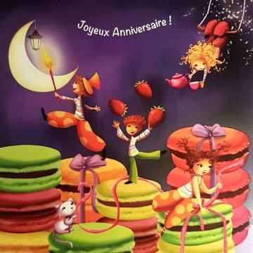 Joyeux anniversaire macarons