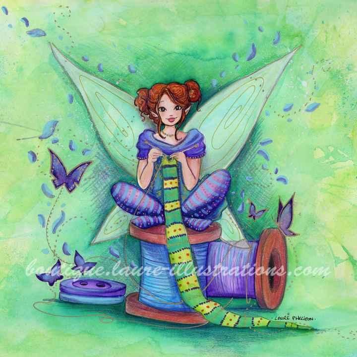 D24 :: Bobine - Aquarelle du cahier de coloriage - carré
