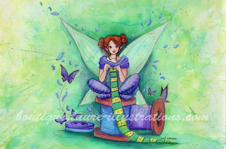 D20 :: Bobines - Aquarelle du cahier de coloriage - horizontal