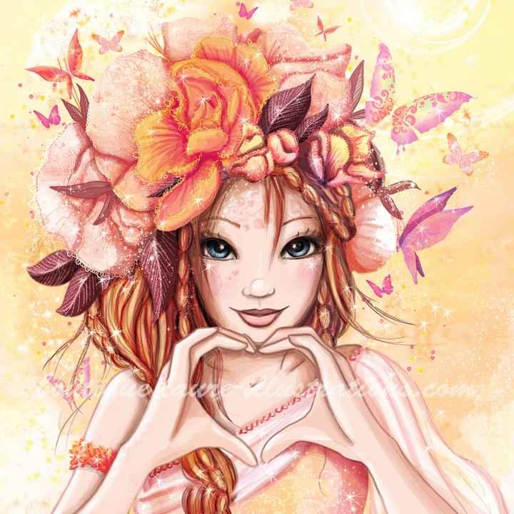C59 :: Cœur en fleur CARRER