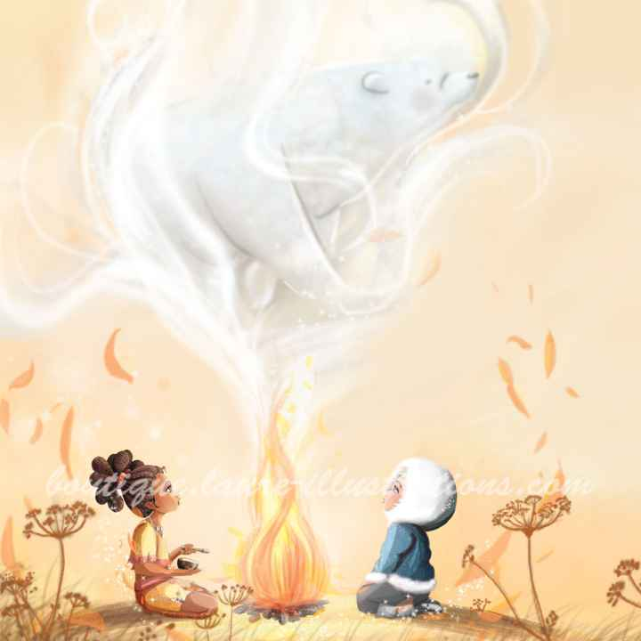 D44 :: Dans la fumée - Nafissa - Carré