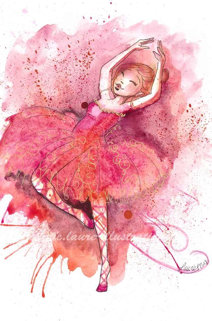Danseuse rouge
