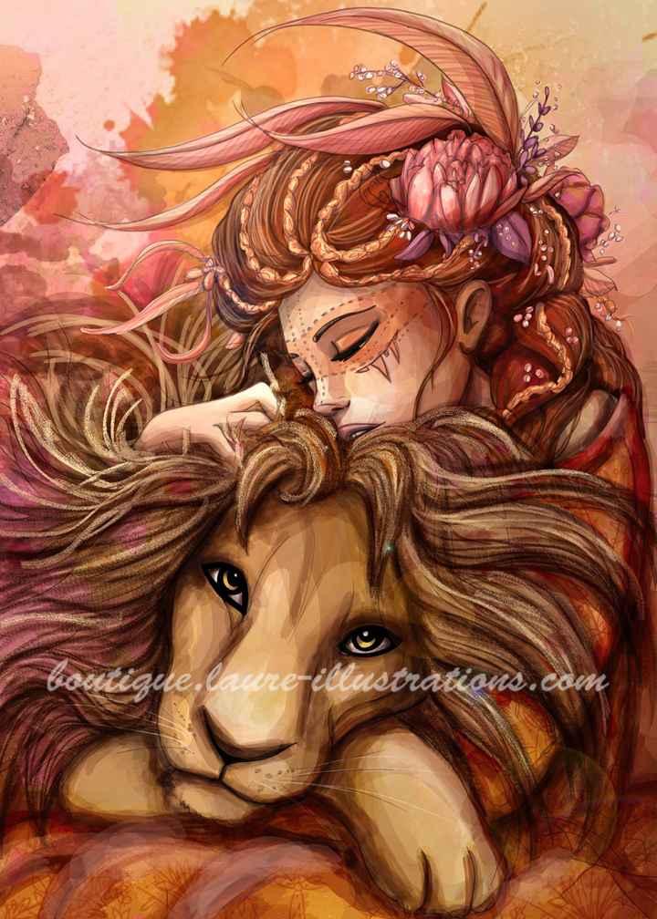 Dompteuse de lion