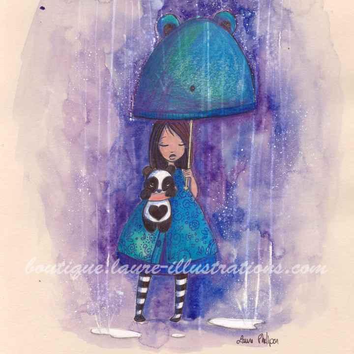 C12 :: Doudou sous la pluie