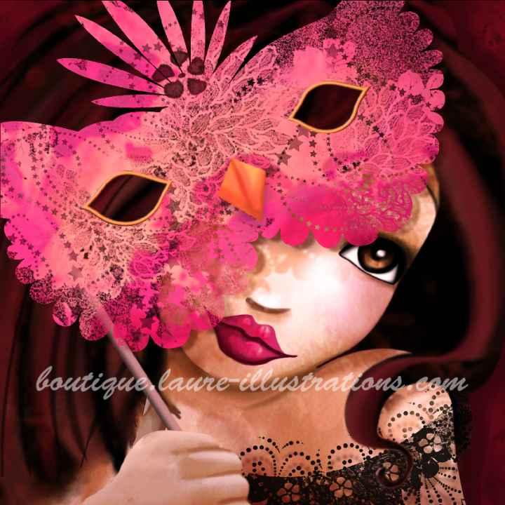 A04 :: Fille masquée