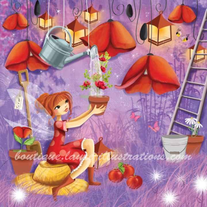 C38 :: Jardinage violet