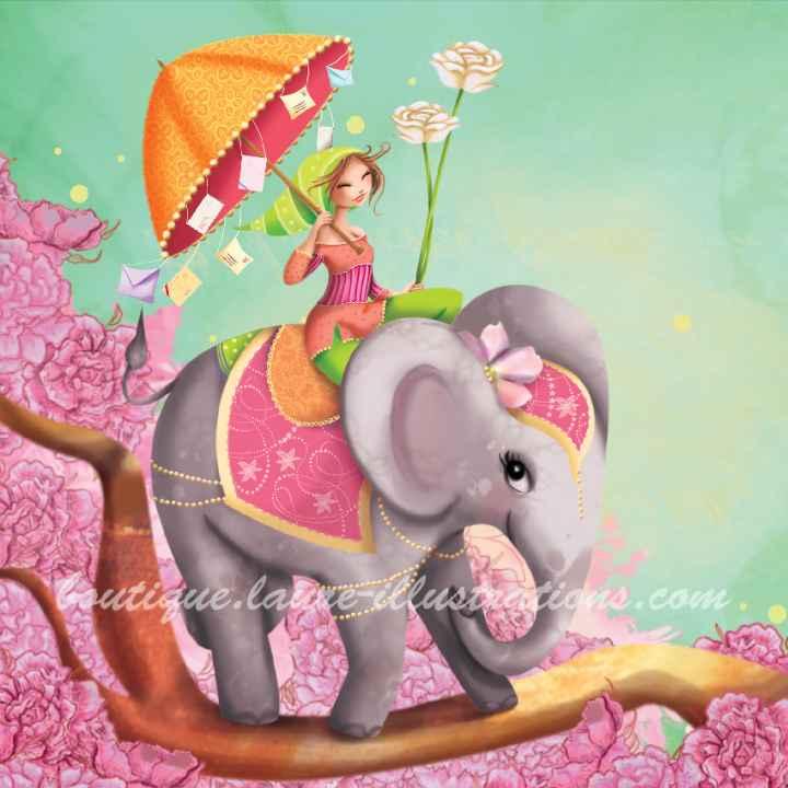 A78 :: l'éléphant et la fille