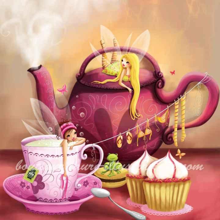 B70 :: L'heure du thé chez les fées