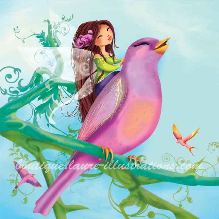A76 :: l'oiseau et la fée