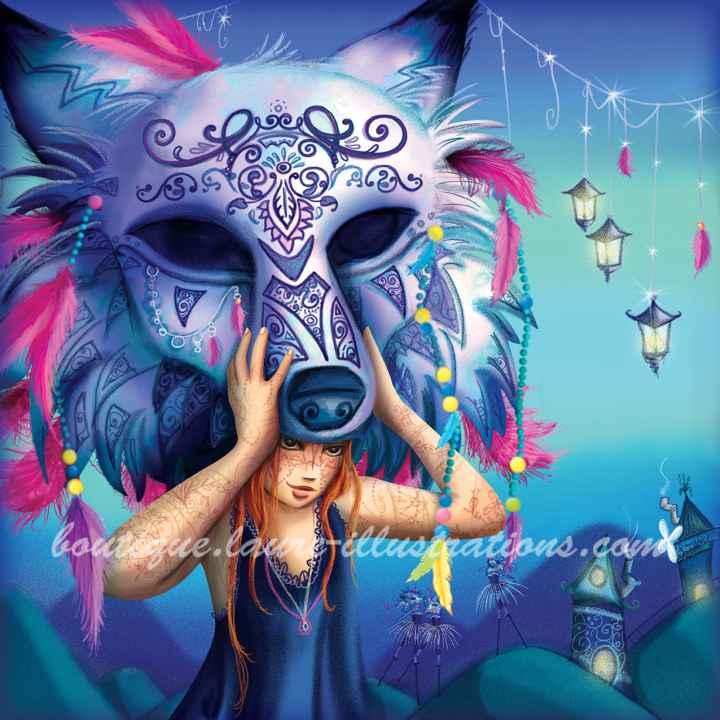 B72 :: Masque de loup