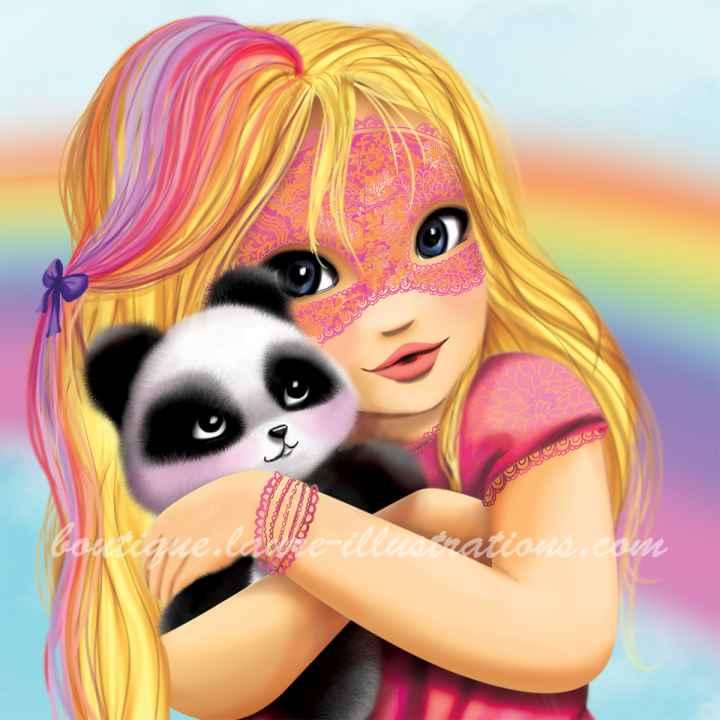 C25 :: Masque et panda