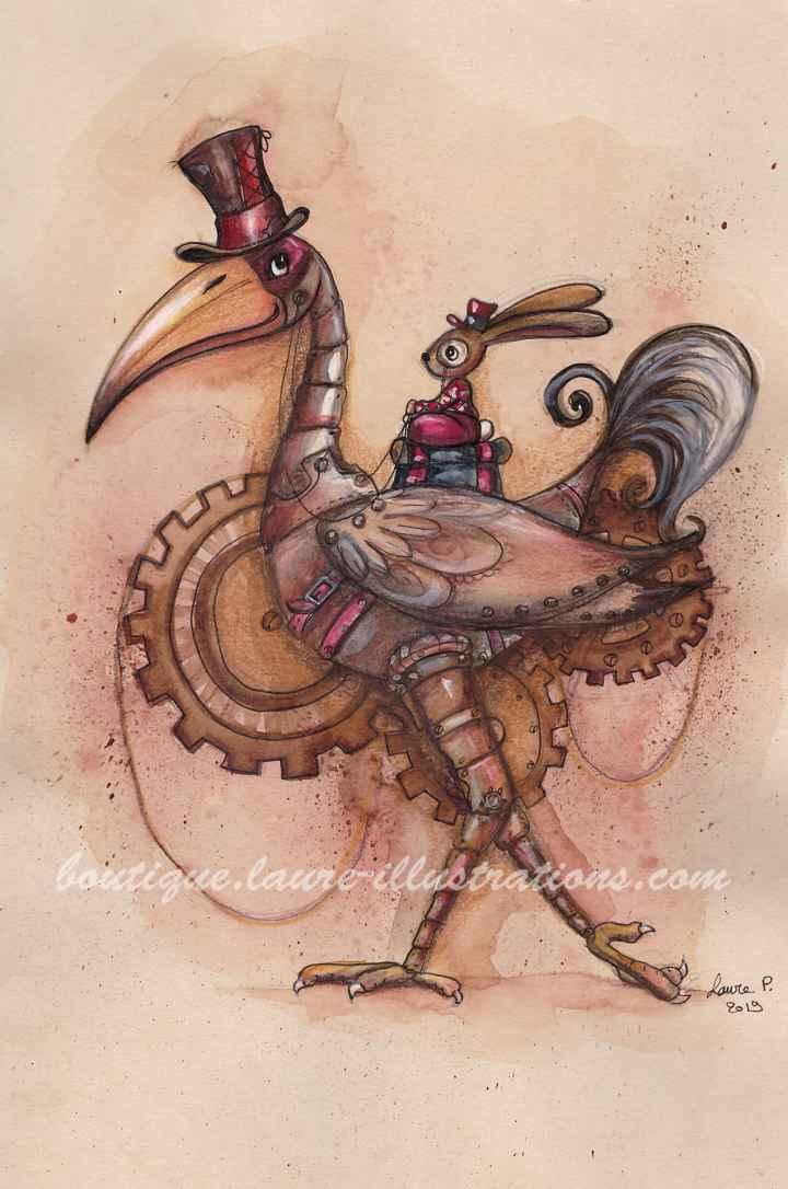 Oiseau SteamPunk