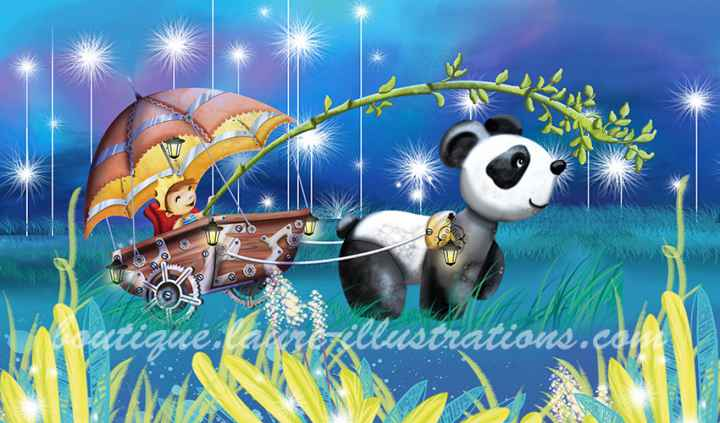 Panda (horizontale)