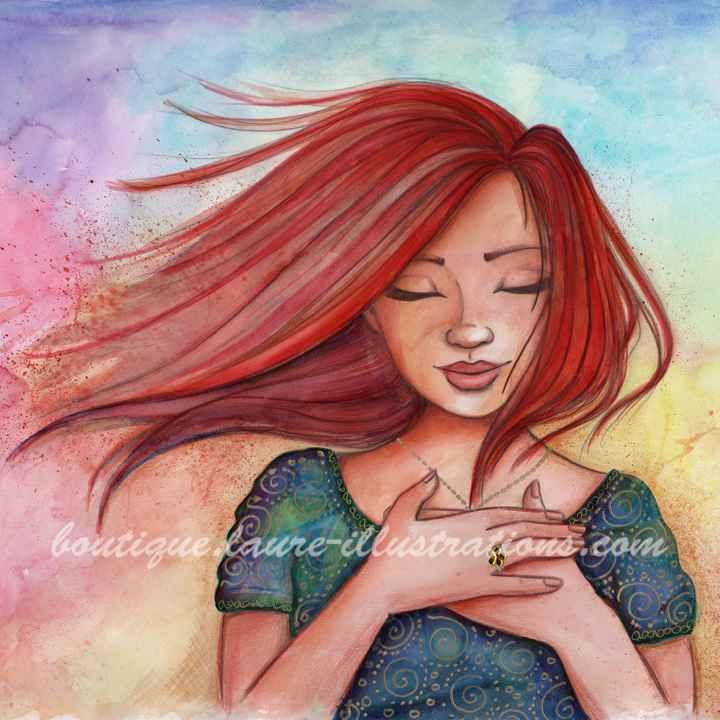 D38 :: Rousse - Aquarelle du cahier de coloriage - Carré