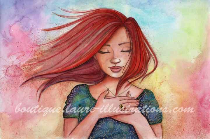 D37 :: Rousse - Aquarelle du cahier de coloriage - Horizontal