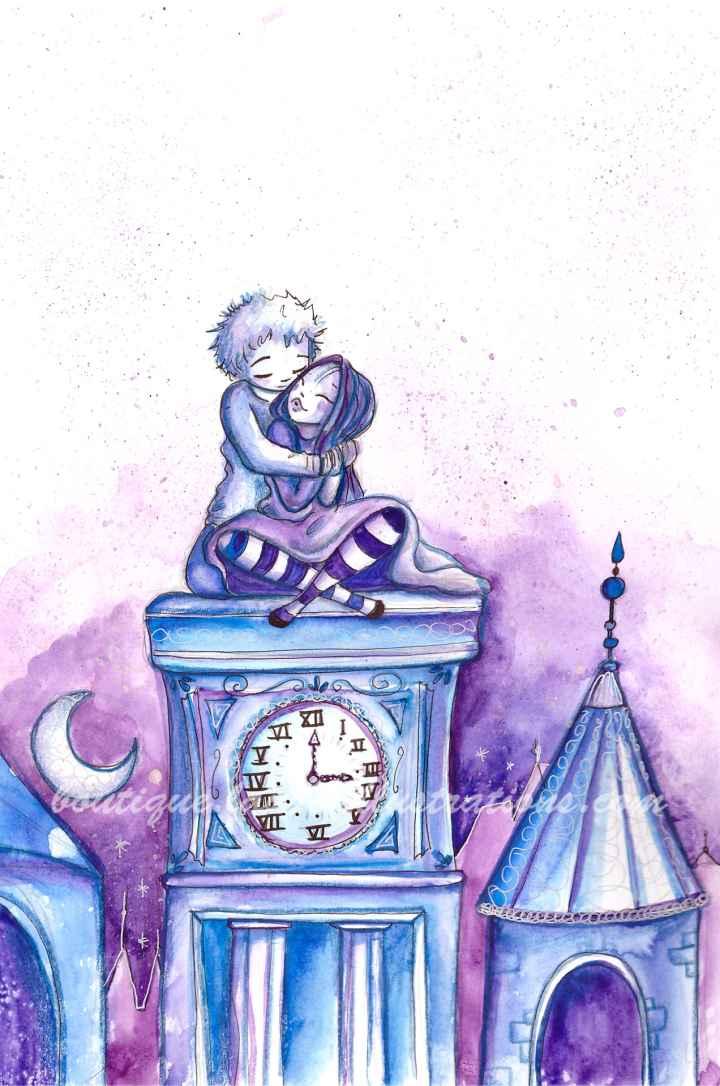 Temps et amour (vertical)